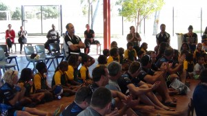 Roebourne School Assembly