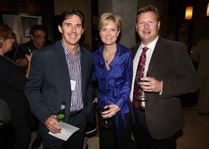 Brad Hogg, Erin Wilberforce, Cameron Gillard (Pindan)