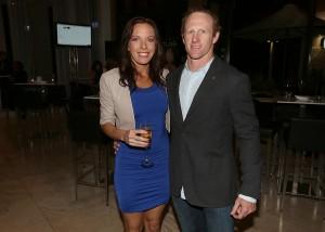 Corporal Mark Donaldson VC and wife Emma Donaldson
